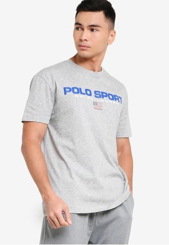 Polo Ralph Lauren 灰色 POLO運動短袖-T恤 E5FCDAA345BCB3GS_1