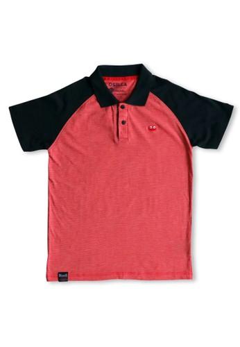 Osella Kids red Osella Baju Anak Laki Laki Polo Shirt Red 7BA73KA8592CD9GS_1