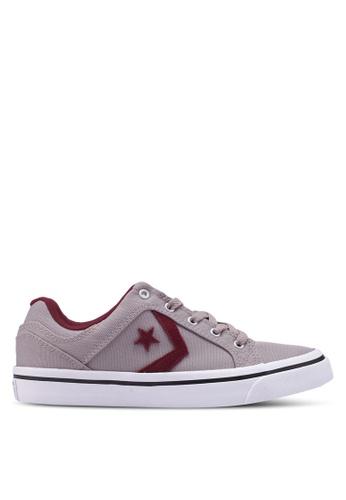 Converse grey EL Distrito Callistic Canvas Ox Sneakers C30F3SHCB29801GS_1