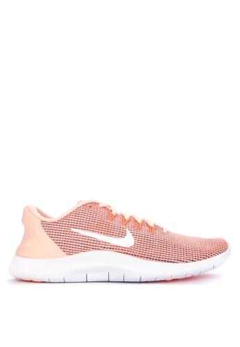 Nike orange Nike Flex Rn 2018 Shoes A72B9SH46F0F8FGS_1