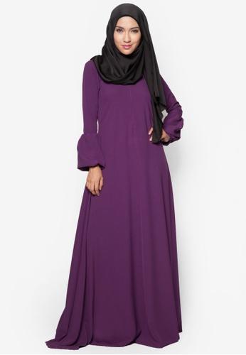 Amar Amran purple Jubah Qhadeeja AM362AA11BUIMY_1