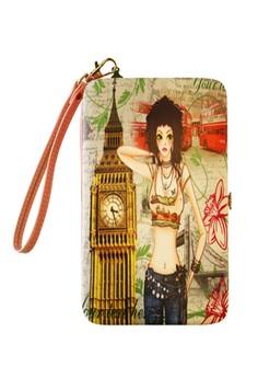 Rock Girl Universal Mobile Case / Wallet Card Holder