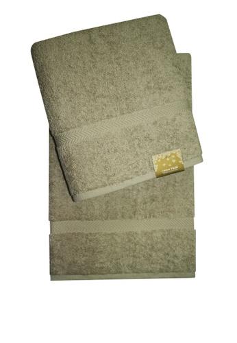 Cotton Fields grey Cotton Fields Bath Towel Plain DACD4HL4003965GS_1