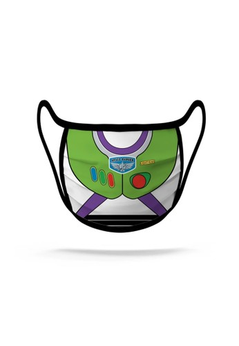 Disney green Masker Buzz Green - Large (Limited Stock) E4F86ES12D7F37GS_1
