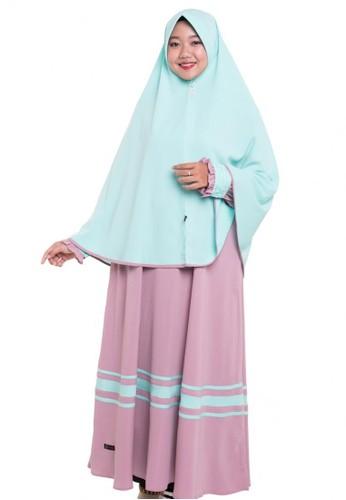 First Hijab purple DressTamima Set Plum 3E49AAA27233E4GS_1