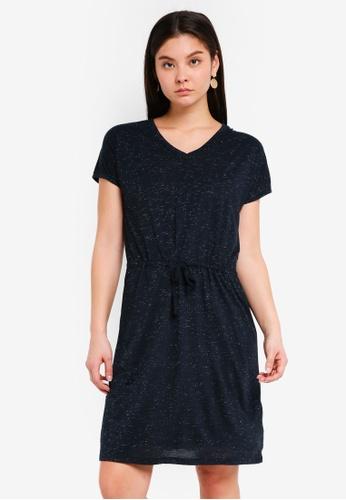 ICHI blue Lisette Dress A4484AA992E0B3GS_1