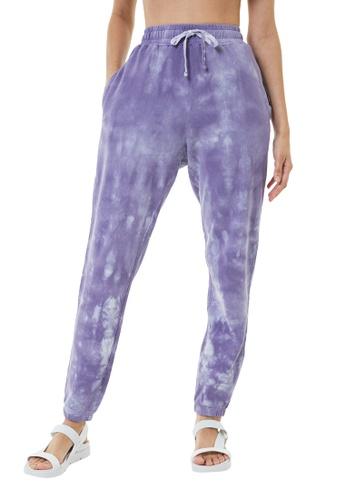 MAHA YOGI Nebula Trousers - Lilac BBDB5AA1803781GS_1