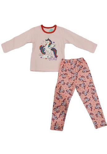 Boboo pink Piyama Anak Ukuran Kecil Unicorn LSPC27 93489KABF3A0B6GS_1