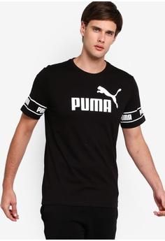 4940ba958 PUMA black Sportstyle Core Amplified Big Logo Tee 5254CAA89F86CCGS_1