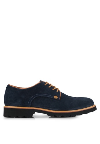 Knight blue Casual Lace Up Shoes F2CAFSH9D3D61BGS_1