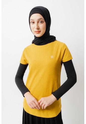 FAMO yellow Women Tshirt 030421 618E3AA80BF3CDGS_1