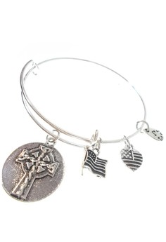 Ani Celtic Cross Expandable Bracelet
