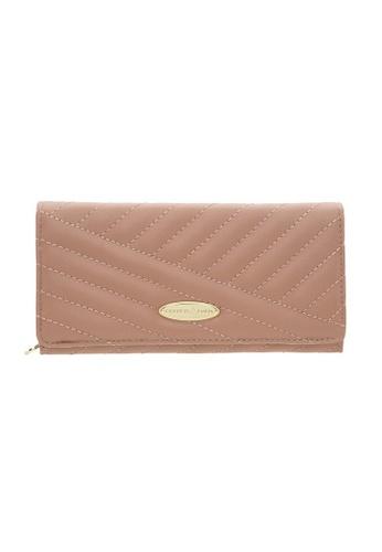 British Polo pink British Polo Glenda Flap Wallet F525EAC7E44E81GS_1