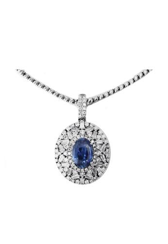 GOLDHEART gold GOLDHEART Necklace, White Gold 585 (BETA2080) 27C07AC3C59D41GS_1