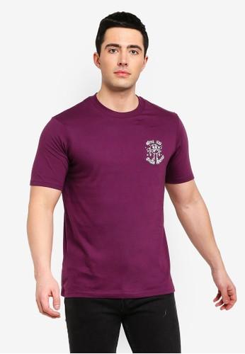 Cotton On purple Tbar Tee 8655EAAD7EC043GS_1