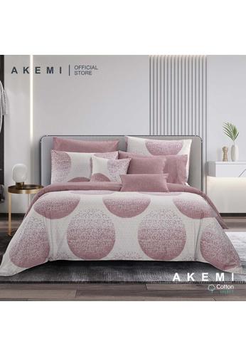 AKEMI purple AKEMI Cotton Select Adore - Onrex (Fitted Sheet Set) 10C29HL1C3E9AEGS_1