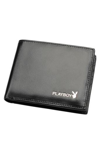 Playboy black Bifold Wallet 48EFDAC82CD740GS_1