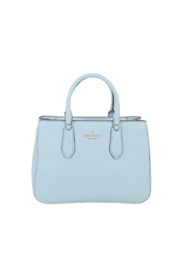 Kate Spade green Kate Spade Small Leighton WKR00098 Satchel Bag In Frosted Spearmint A9E7AAC649AFF9GS_1