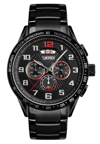 DIGITEC black Digitec - Jam Tangan Pria - Black - Stainless Steel Bracelet - 9176-E 168E5ACAD539D7GS_1