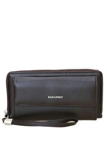 Baellerry brown Handbag Dompet Pria Model Panjang Many Slot Material PU Leather ORIGINAL 80F36ACAF99513GS_1