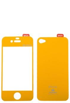 Color Mirror Film iPhone 4/4S [Yellow]