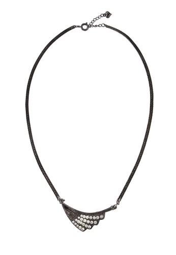 1901 Jewelry black 1901 Jewelry Kalung Single Wing 19910AC0UPROID_1