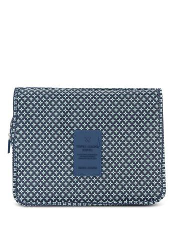 印花多用途旅行esprit hk盥洗袋, 包, 旅行配件