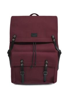 Holden - Genuine Leather Trim Water Repellent DSLR Camera Travel Backpack