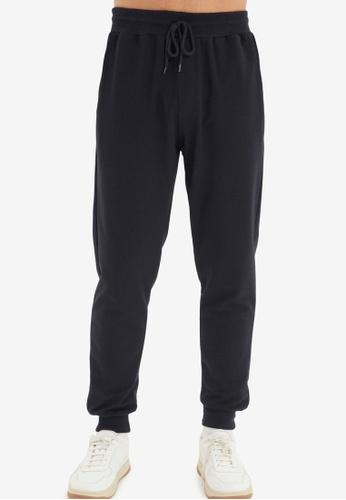 Trendyol navy Plain Jogger Pants F85FCAAD82882FGS_1