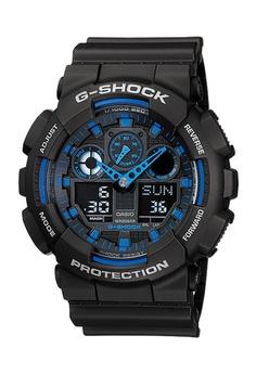 e787a6a629ba Casio black CASIO G-SHOCK WATCH GA-100-1A2DR 920C7AC54975E6GS 1