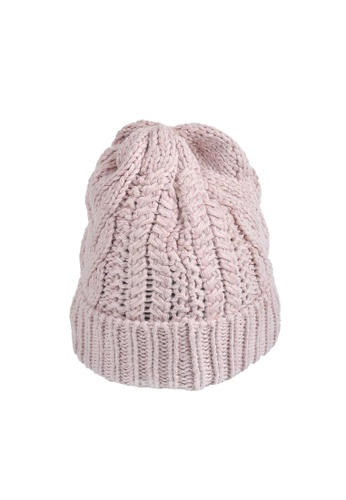 5500c19cf6f Buy The North Face TNF CABLE MINNA BEANIE BURNISHED LILAC Online on ...