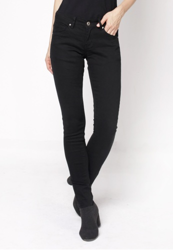 nicole black Basic Cotton Skinny Pants 30457AA1624B39GS_1
