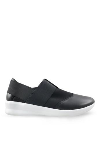 Footspot black FOOTSPOT – Stylish Slip-On Sneakers FO296SH43GXGHK_1