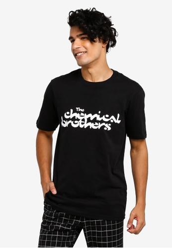 Cotton On 黑色 印花T恤 A4CA8AAE988C05GS_1