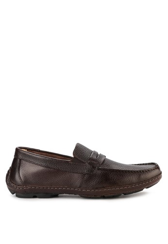 Obermain brown Drive Therapy I Slip On 4EC43SH7FA07A7GS_1