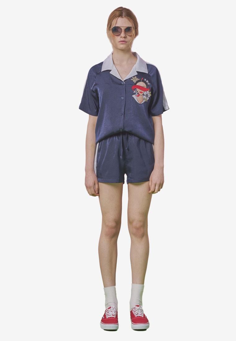 Satin Boxy Shorts