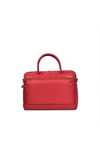 Hedgren red Hedgren Olga Business Bag 14.1 inch RFID Bag Sun Dried Tomato-11.4L CE5C8AC0A72044GS_1