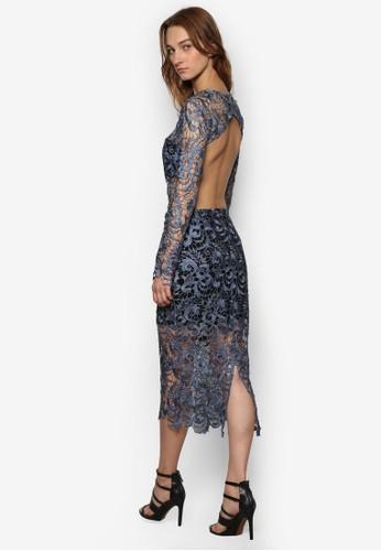蕾絲編織連身裙, 服飾, 洋esprit台北門市裝