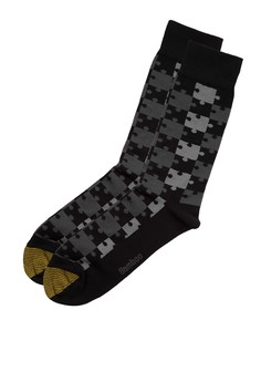 Puzzle Piece Pattern Socks