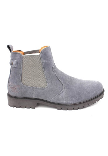 midzone grey SCORPION Suede Leather Boots 120BESH86838DEGS_1