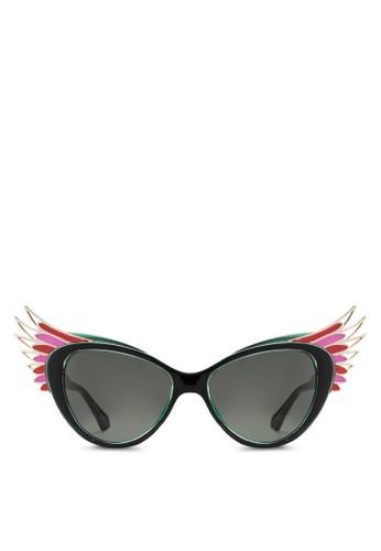 JP0esprit 台灣官網121 造型鏤空貓眼太陽眼鏡, 飾品配件, 飾品配件