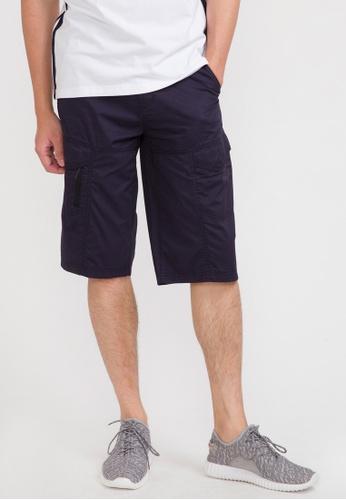 cae0f1711b Buy Bossini Solid Multiple Pockets Shorts Online on ZALORA Singapore
