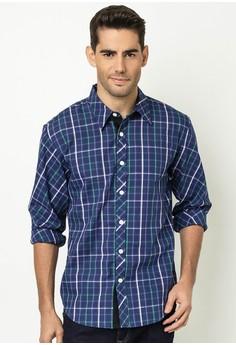 Men's Checkered Long-sleeves Shirt