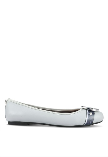 House of Avenues grey Embellished Flats HO685SH0RRB6MY_1