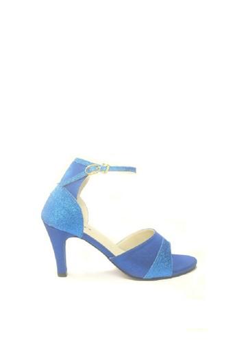 Beauty Shoes blue Beauty Shoes 1065 Heels Blue 171C7SH1964E51GS_1