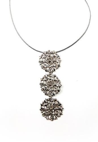 Paulini silver Choker Coral 3T (R) PA011AC95CGMMY_1