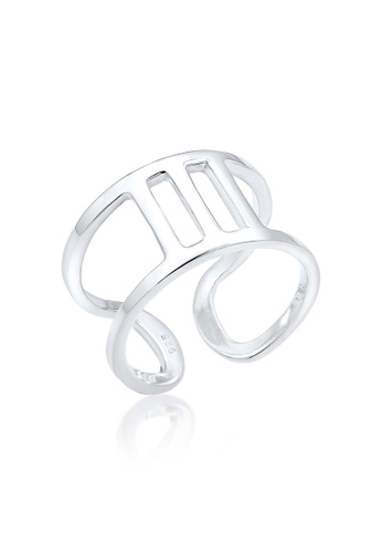 Elli Germany silver Elli Germany 925 Sterling Silver Blogger Ring EL474AC0S204MY_1