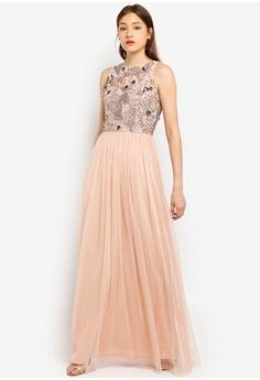 5704ae885f2 Angeleye brown Taupe Dress 77A2EAAF877214GS 1