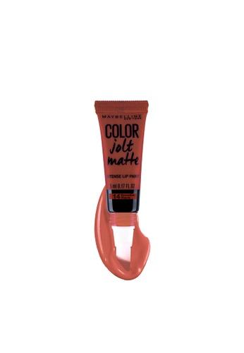 Maybelline brown Color Jolt Matte Lip Paint - 14 Evocative Mauve FEA29BEDBDC75BGS_1