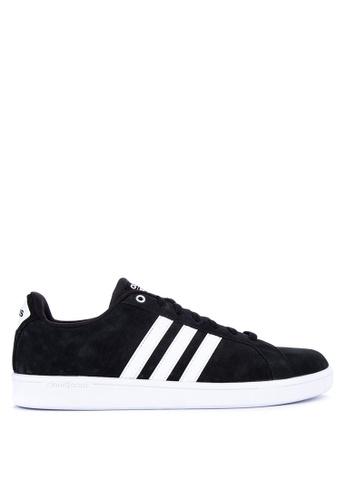 adidas black and white adidas cloudfoam advantage shoes C804CSH496DE40GS_1